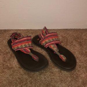 Super comfortable Sanuk sandals